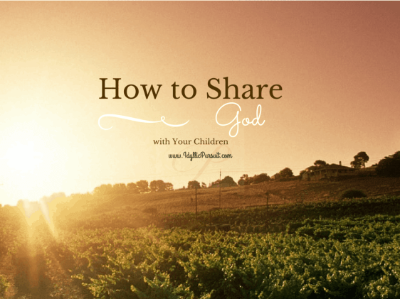 HOW TO SHARE GOD