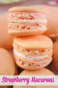 Strawberry Macarons and other strawberry recipes at www.idyllicpursuit.com