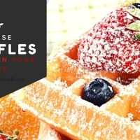 Meet the waffles that'll ruin your life. What's the special ingredient?