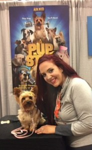 Pup Star at BlogHer16 www.idyllicpursuit.com