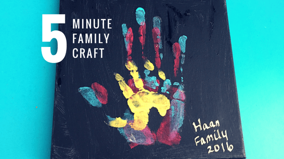 5 Minute Family Craft at idyllicpursuit.com