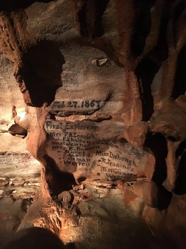 Fantastic Caverns in Missouri
