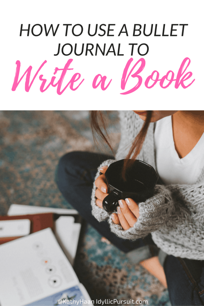 How to use a bullet journal to finally write your book!