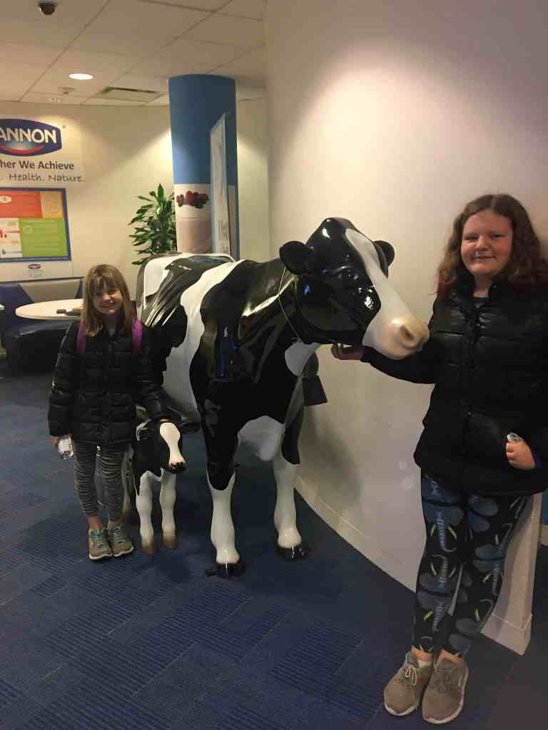 How to Spend a Week in NYC with Family. At Dannon headquarters!