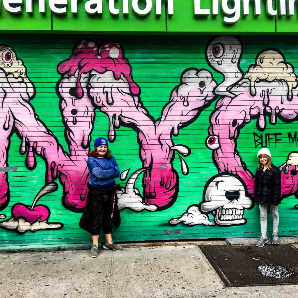 How to Spend a Week in NYC with Family. We loved the street art!