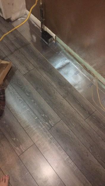DIY: Installing flooring