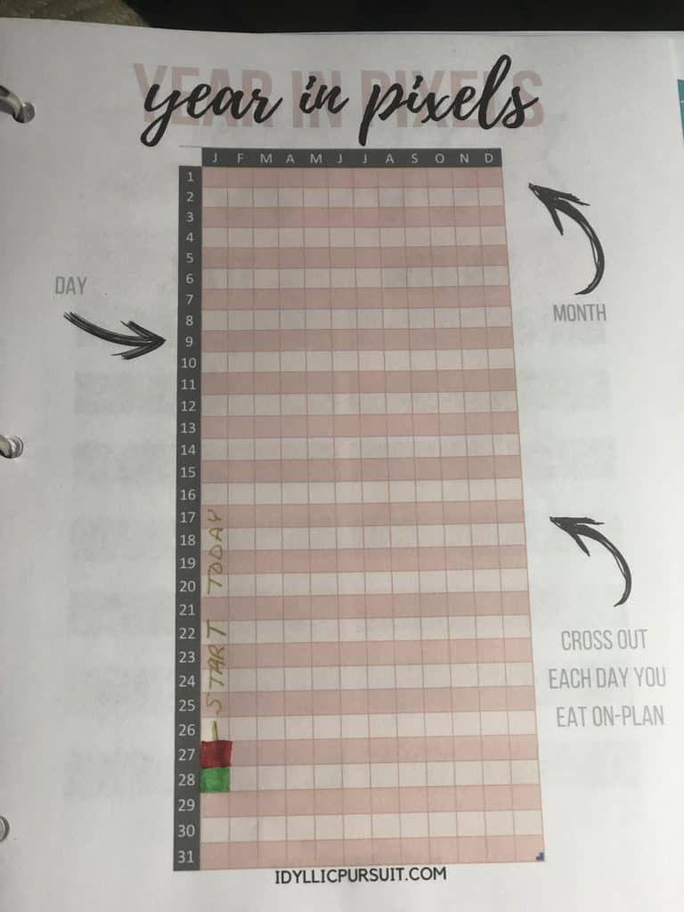 How to track weight loss. Here's exactly how I tracked my progress towards losing 123 lbs. I've included a free weight loss tracker for you, too!