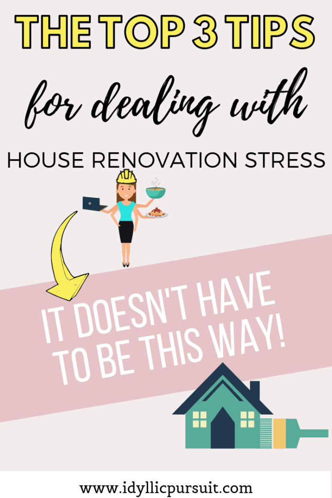 Dealing with house renovation stress? Here is how to maintain some bliss!