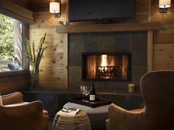 Ventana Big Sur Fireplace