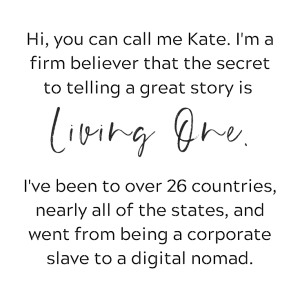 Kathy Haan of idyllic pursuit sidebar bio