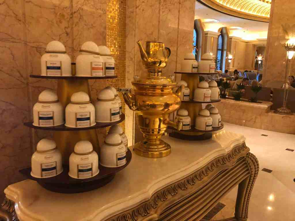 20 photos to inspire you to visit Abu Dhabi - cafe in Emirates Palace