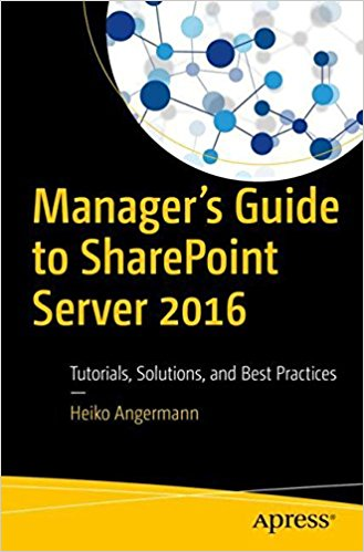 Managers Guide to SharePoint Server 2016