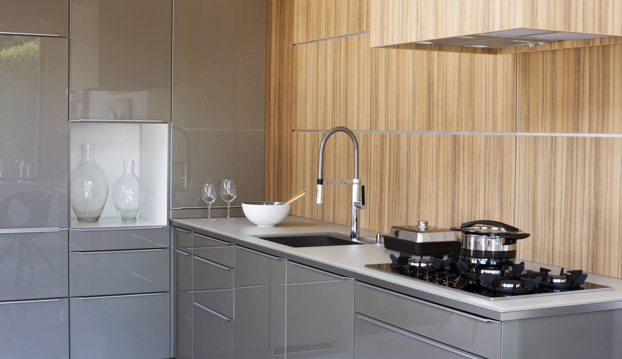 Grey Kitchen Cabinets are Hot