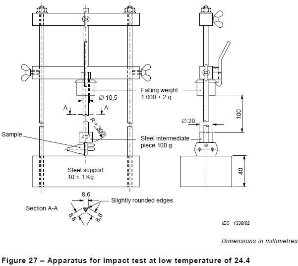 Low Temperature Tensile Strength Testing Machine Plug
