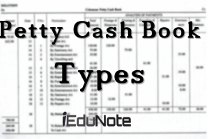 Petty Cash Book: Types of Petty Cash Book in Accounting (Diagrams & Examples)