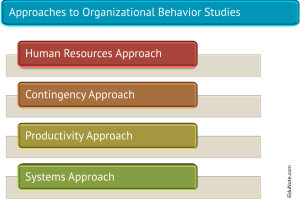 4 Approaches to Organizational Behavior Studies