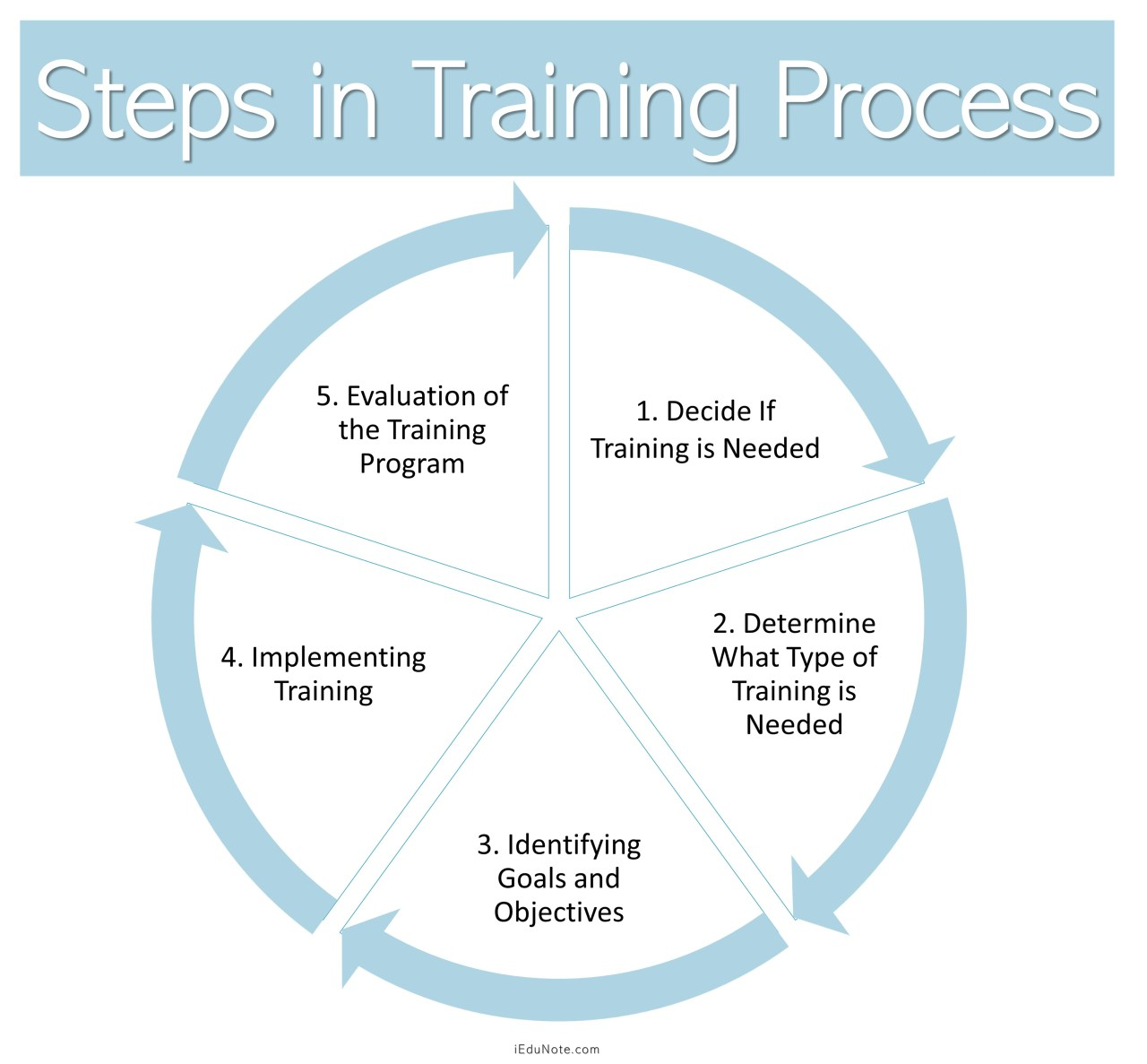 Steps in Training Process/Phases of Training