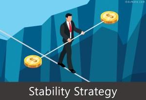 Stability Strategy: Pathways to Stability Strategy