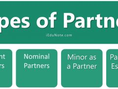 Types of Partners in Partnership Business (Rights, Duties, Liabilities of Partners)