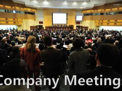 Company Meetings: Types of Company Meetings
