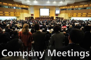 Company Meetings: 4 Types of Company Meetings