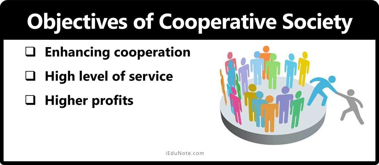 Objectives of Cooperative Society