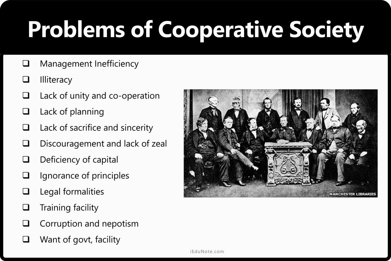 Problems of Cooperative Society