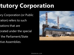 Statutory Corporation: Definition, Features, Advantages, Disadvantages