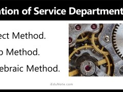 Allocation of Service Department Costs