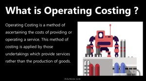 what is operating costing