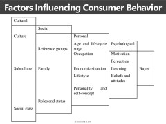 Factors Influencing Consumer Behavior