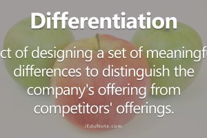 Differentiation: 5 Differentiating Variables