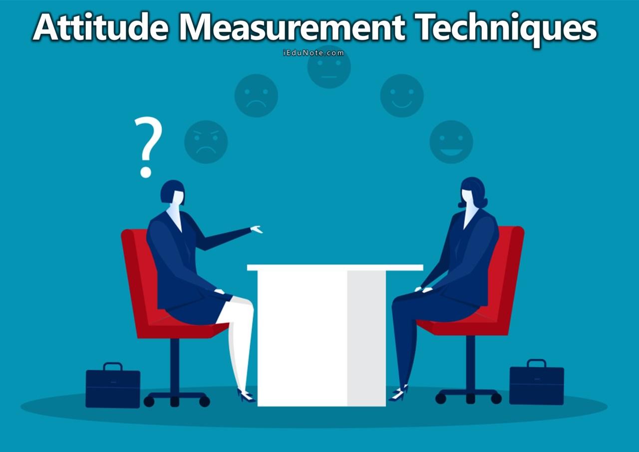 Best Attitude Measurement Techniques