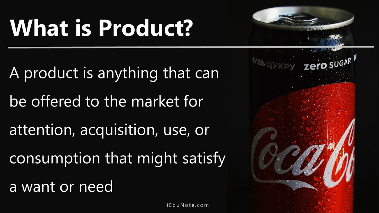 Meaning of Product- What is Product?