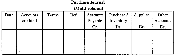 Different Types of Accounting Journal