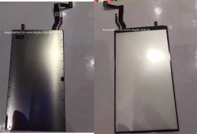 """iPhone 7 rumors and iPhone 7 news - Leaked backlight assembly purportedly for """"iPhone 7"""" display"""