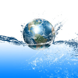 Origin of water on earth
