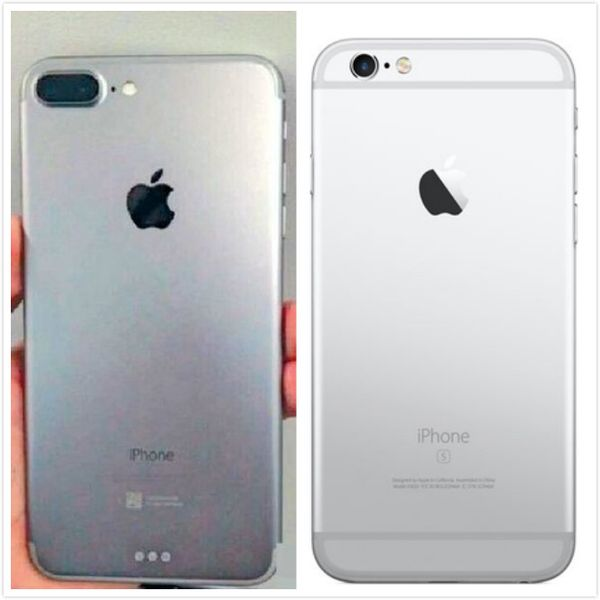 First Photo of iPhone 7 Plus Shows Dual-Lens Camera