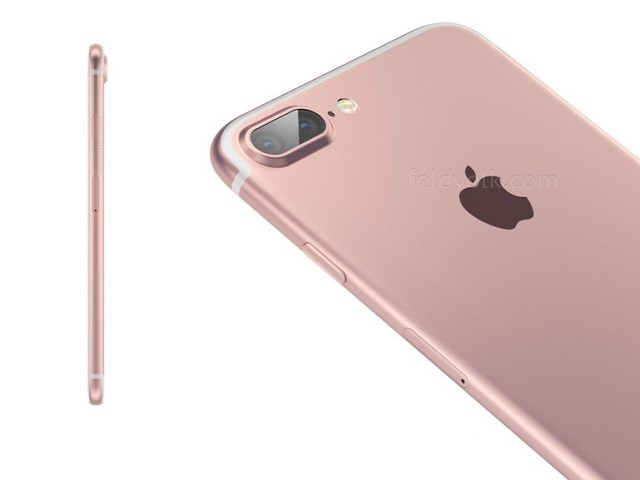 iPhone 7 has a dual camera sensor