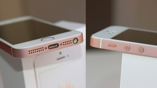 The Apple iPhone SE sticks to the design of the iPhone 5S, rather than stepping over to the newer unibody design of the iPhone 6