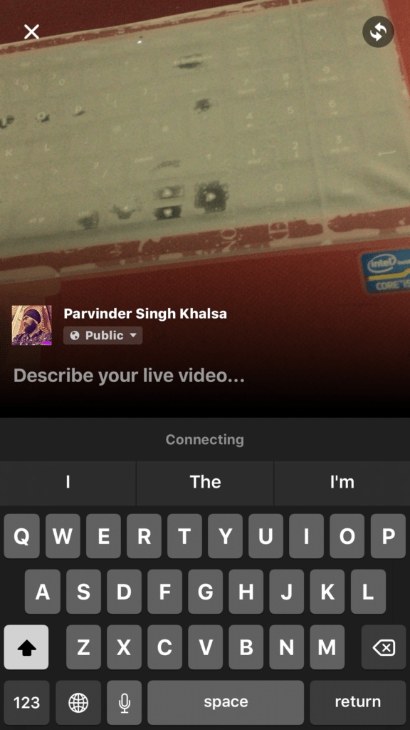 For iPhone/ iPad Updated or Newest Facebook app live video on Facebook