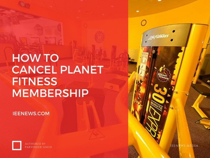How to cancel planet fitness membership