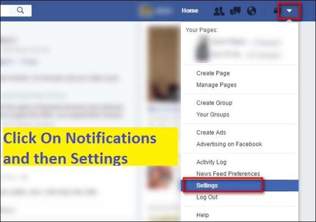 Turn Off Facebook Live Notifications on app, iPhone Android: