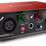 Focusrite Scarlett Solo (2nd Gen) USB Audio Interface: Best USB audio interface 2016: Cheap Audio Interface USB