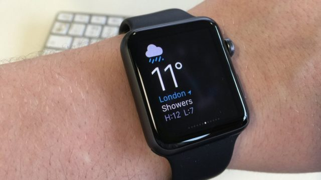 Best apple watch apps: Weather