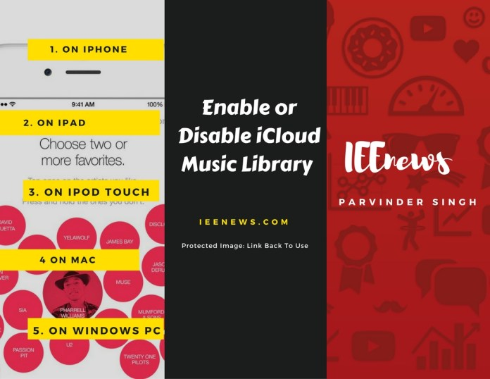 when-icloud-music-library-is-turned-on or off