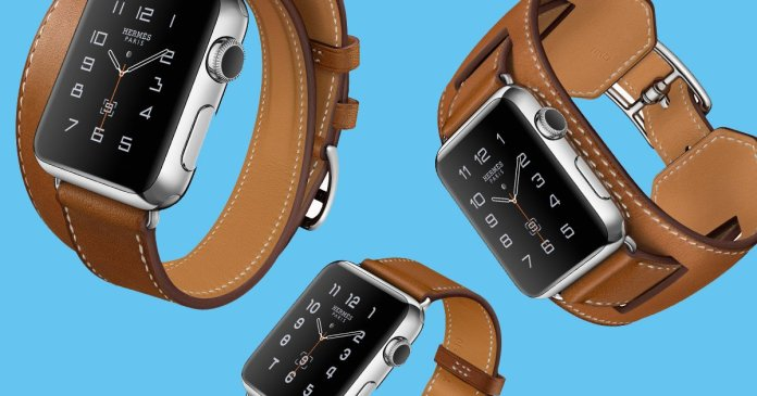 Hermes watch face: Hermès Apple Watch clock face