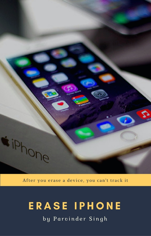 Erase your device: Can i find iPhone without iCloud or an Apple ID