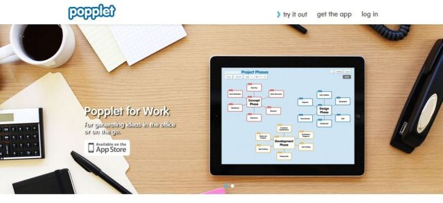 Popplet: Best free mind mapping software: Mind mapping software
