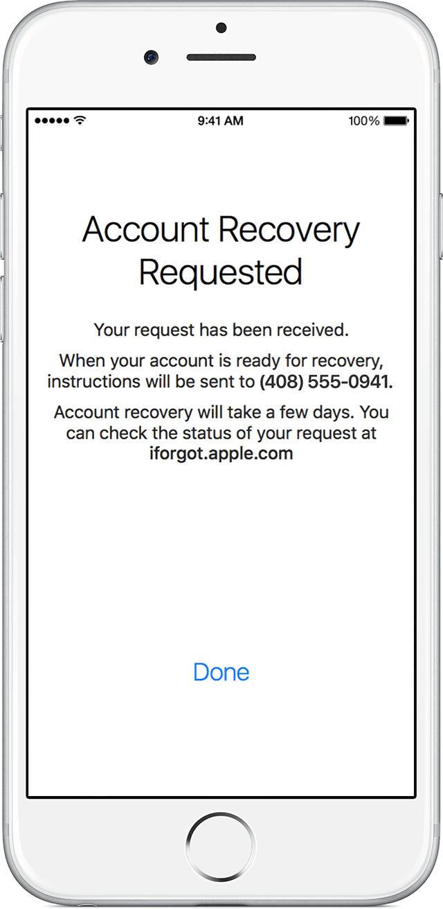 How To Recover Your Apple Id